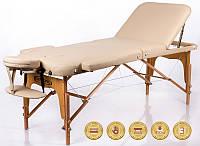 Массажный стол деревянный 3-х сегментный RESTPRO Memory 3 кушетка массажная для массажа, фото 1