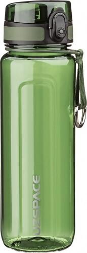Бутылка для воды UZSPACE U-type 6019 750 мл, зелёная