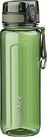 Бутылка для воды UZSPACE U-type 6019 750 мл, зелёная, фото 1