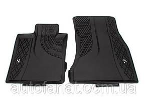 Оригинальные передние коврики салона BMW 7 G11, G12 (51472443985)