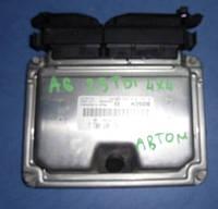Блок управления двигателем ( ЭБУ )AudiA6 C5 2.5tdi 24V1997-2004Bosch 0281010822 , 4B2907401J (мотор - AKE)