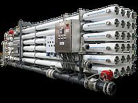 Серийные установки обратного осмоса (RO) от 0,9 до 19,8 м3/час