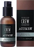Гель для обличчя зволожуючий Energizing Hydrating American Crew ACUMEN, 50 ml