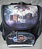 Рюкзак школьный каркасный с фонариками Bagland Успех 12л (5513 чёрный 505)