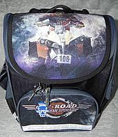 Рюкзак школьный каркасный с фонариками Bagland Успех 12л (5513 чёрный 505), фото 1