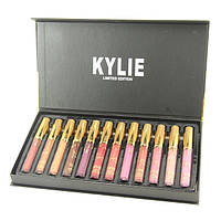 Набор матовых помад Kylie Interpretation Of The Beautiful 12 шт, мегатоп