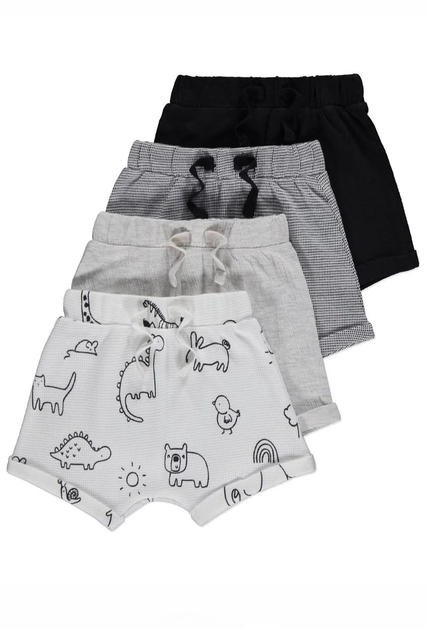 Літні трикотажні шорти для хлопчиків Gеоrge 12-18м