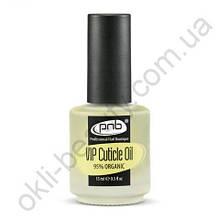 Масло по уходу за ногтями и кутикулой PNB VIP Cuticle Oil, 15 мл