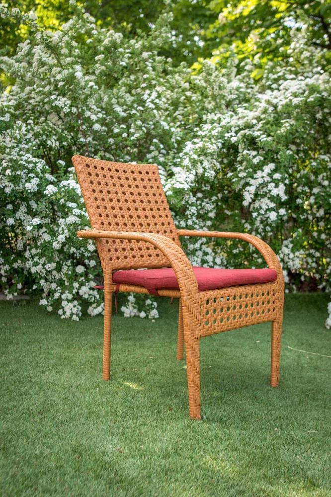 Кресло из ротанга Классик. Украинские конструкции.