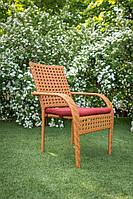 Кресло из ротанга Классик. Украинские конструкции., фото 1