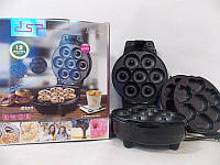 Прибор для приготовления пончиков, бисквитов DSP KC1103 600 Вт, пончик и бисквит мейкер, бисквитница! Скидка