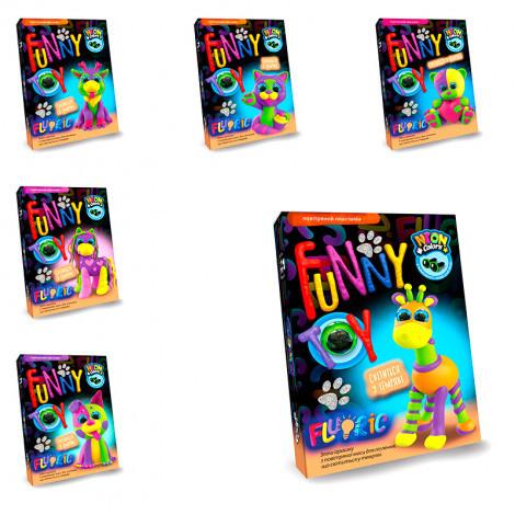 Набір креативної творчості Danko Toys Air clay Fluoric в асортименті (ДТ-ТЛ-02-77)