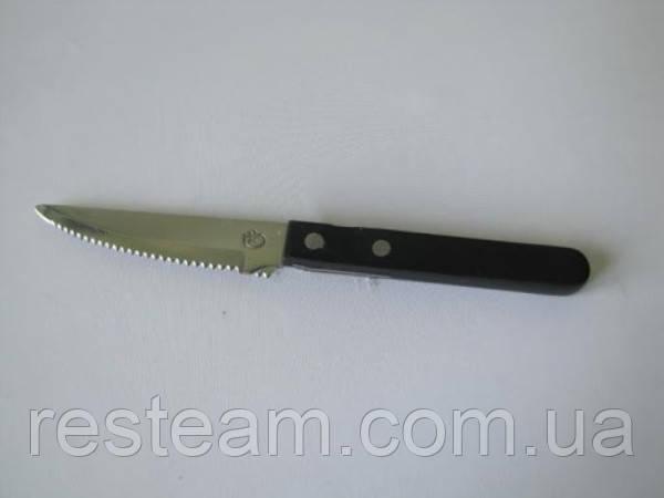 Нож для стейка черная ручка VT6-16632