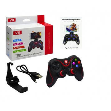 Игровой беспроводной джойстик Bluetooth геймпад для мобильного телефона V8-3020 Mega Shopping Fun