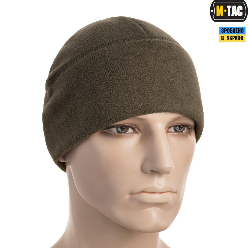 M-Tac шапка Watch Cap флис Windblock 380 Olive