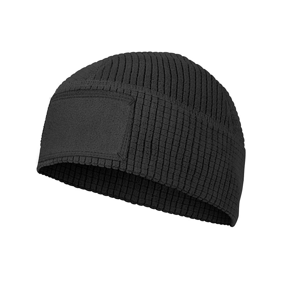 Шапка RANGE Beanie - Grid Fleece - чорна