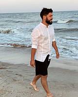 Чоловічі сорочки із 100% льону