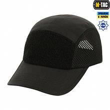 M-Tac бейсболка тактична 5-панельна з сіткою Black
