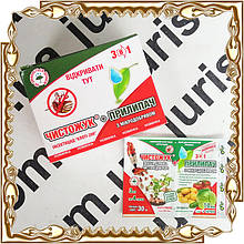 Отрута Прилипач + Чисто Жук (50 упаковок по 3 мл+10 мл)