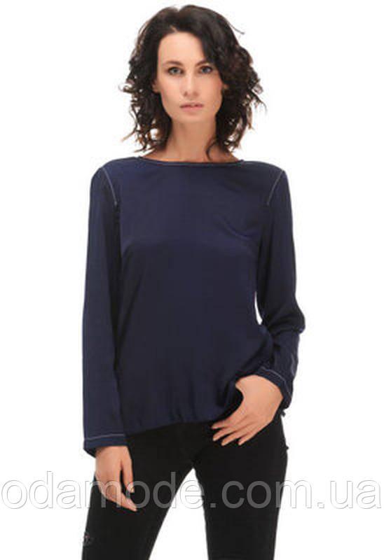 Блуза женская синяя h&m