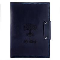 Папка - портфель для семейных документов Anchor Stuff А4 Темно-синяя as150102-3, КОД: 1077419