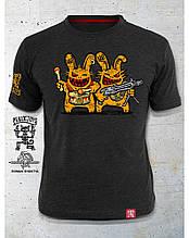 PEKLO.TOYS футболка Близнюки Melange Graphite