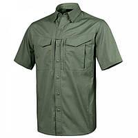 Рубашка Defender Mk2 с к/рукавами - PolyCotton Ripstop - олива