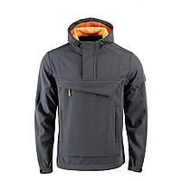 M-Tac анорак Soft Shell Fighter Dark Grey/Orange