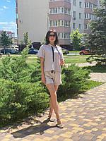 Женский льняной костюм Poliit 7186, фото 1