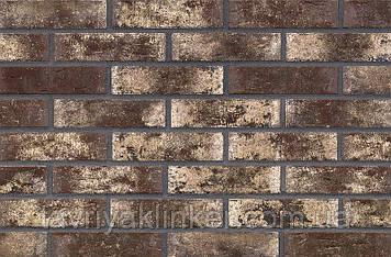Клинкерная фасадная плитка Smooth jazz (HF24), 240x71x14 мм