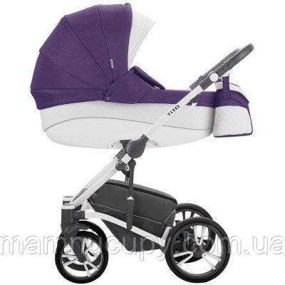 Детская универсальная коляска 2 в 1 Bebetto Tito S-line CH05 Сиреневый