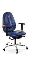 Ортопедическое Офисное Кресло «Classic» Kulik System СИНИЙ