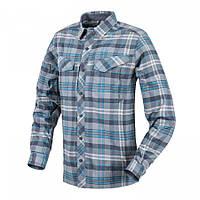 Рубашка Defender Mk2 PILGRIM - Ginger Plaid Blue Plaid