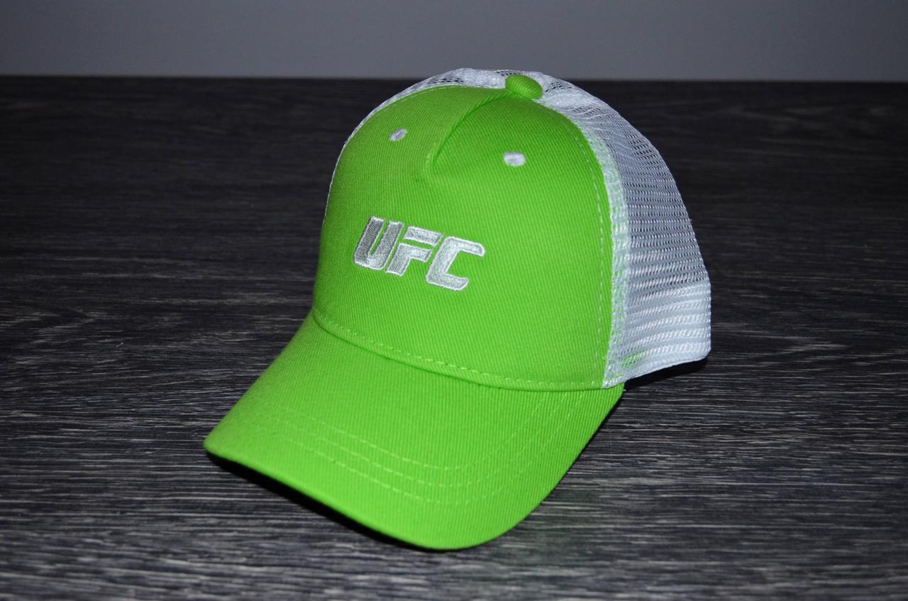 Кепка UFC green/white