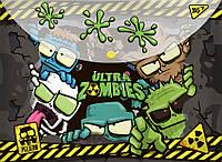 """Папка-конверт YES на кнопке А4 """"Zombie"""" код: 491780"""