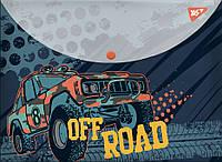 """Папка-конверт YES на кнопке А4 """"Of Road"""" код: 491781"""