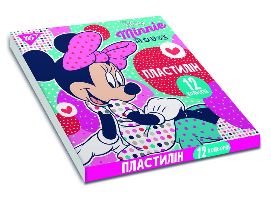 "Пластилин YES ""Minnie Mouse"", 12цв, 240г, Украина код: 540565"