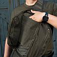 M-Tac рюкзак однолямочный Armadillo Black, фото 4
