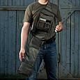 M-Tac рюкзак однолямочный Armadillo Black, фото 5