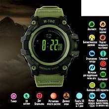 M-Tac часы тактические Adventure Black/Olive