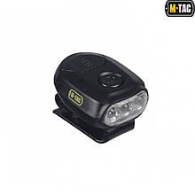 M-Tac фонарик с креплением на головной убор Black