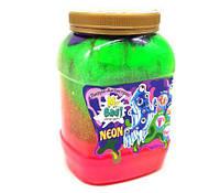"""Лизун-антистресс """"Mr. Boo: Neon"""", 1000 г (разноцветный) 80051"""