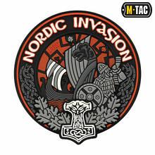 M-Tac нашивка Nordic Invasion 3D ПВХ