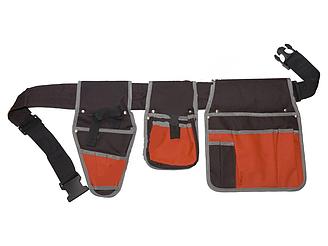Монтажный пояс для инструмента Jado  с большими карманами 18 шт.