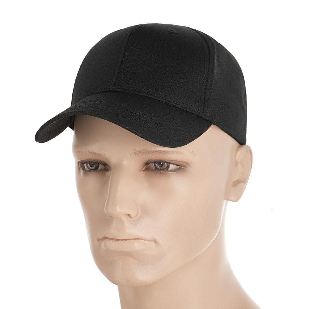 M-Tac бейсболка Elite Flex ріп-стоп Black