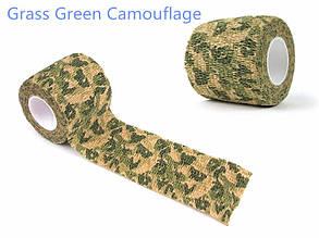 Лента камуфляжная (для оружия и снаряжения) - Grass Green Camo