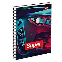 Тетрадь для записей А5/144 пл.обл. SUPER CAR YES код: 681660, фото 2