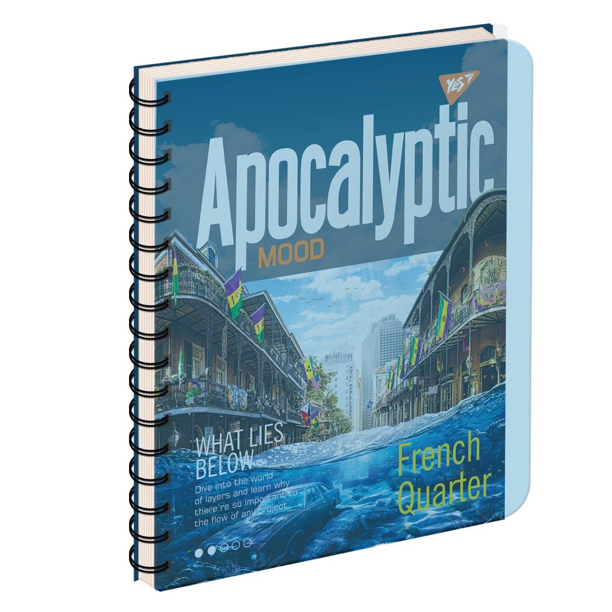 Тетрадь для записей А5/144 пл.обл. APOCALYPTIC YES код: 681680