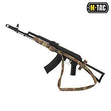 M-Tac ремень оружейный трехточечный Multicam