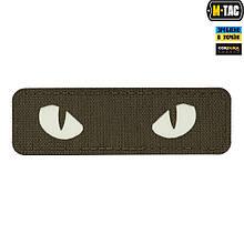 M-Tac нашивка Cat Eyes Laser Cut светонакопитель/Ranger Green